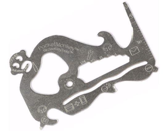 Zootility Tools PocketMonkey Basic 12-in-1 Multi-Tool