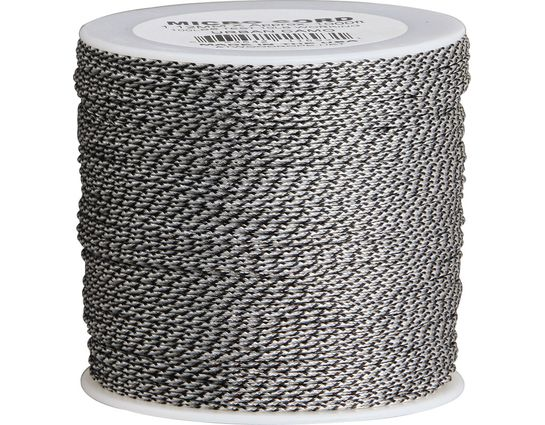 550 Micro Cord, Urban Camo, Nylon Braided, 1000 Feet x 1.12 mm