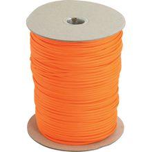 550 Paracord, Neon Orange, 1000 Feet Roll
