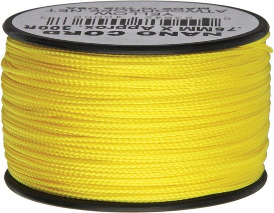 Nano Cord, Yellow, 300 Feet x 0.75 mm