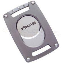 XIKAR Xi Ultra Slim Cigar Cutter - Gunmetal Gray
