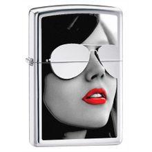 Zippo Sunglasses, High Polish Chrome Classic
