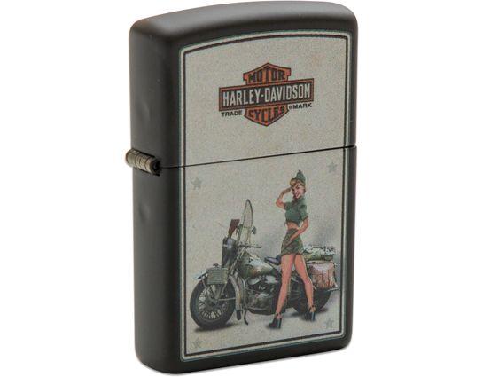 Zippo Harley-Davidson US Army Pinup Lighter