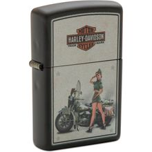 Zippo Harley-Davidson US Army Pinup Lighter