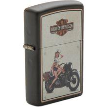 Zippo Harley-Davidson US Marines Pinup Lighter