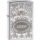Zippo American Classic, Zippo Crown Stamp High Polish Chrome