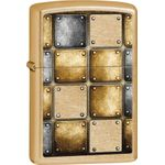 Zippo Metal Design, Gold Dust Classic