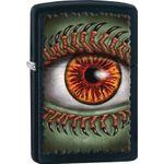 Zippo Monster Eye, Black Matte Classic
