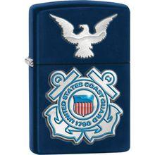 Zippo USCG United States Coast Guard, Navy Matte Classic
