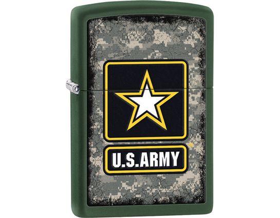 Zippo US Army, Green Matte Classic