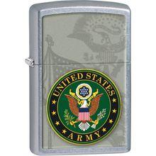 Zippo US Army, Street Chrome Classic