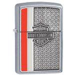 Zippo Harley-Davidson Diamond Plate, Street Chrome Classic