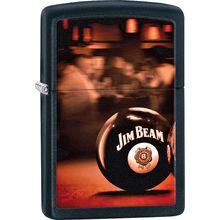 Zippo Jim Beam, Black Matte Classic