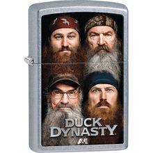 Zippo Duck Dynasty Family, Street Chrome Classic