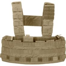 5.11 Tactical TacTec Tactical Chest Rig, Sandstone (56061-328)