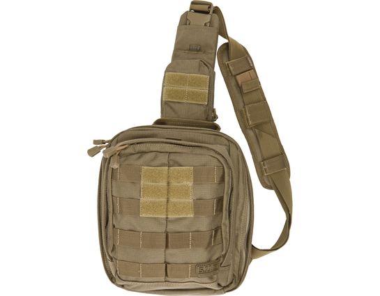 5.11 Tactical Rush MOAB 6 Sling Pack, Sandstone (56963-328)