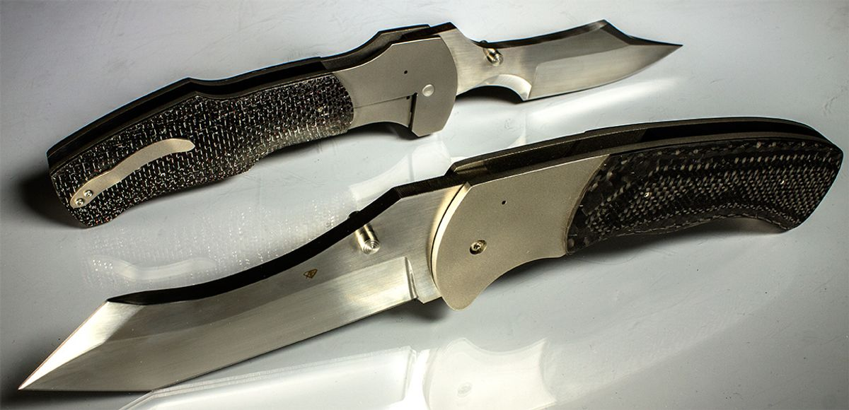 Aaron Frederick Custom Knives