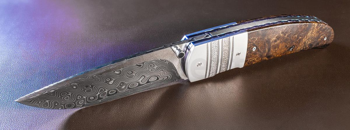 Herucus Blomerus Custom Knives