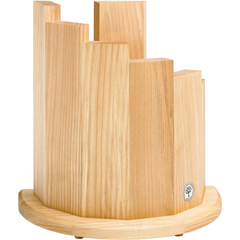 Boker Magnetic Kitchen Knife Block, Olive Wood