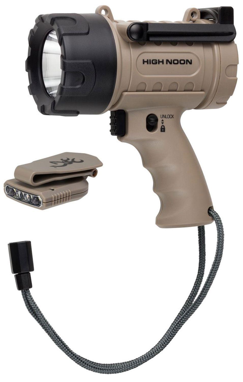 Browning 3717760 Black High Noon 4C Rugged 825 Lumen Waterproof Spotlight