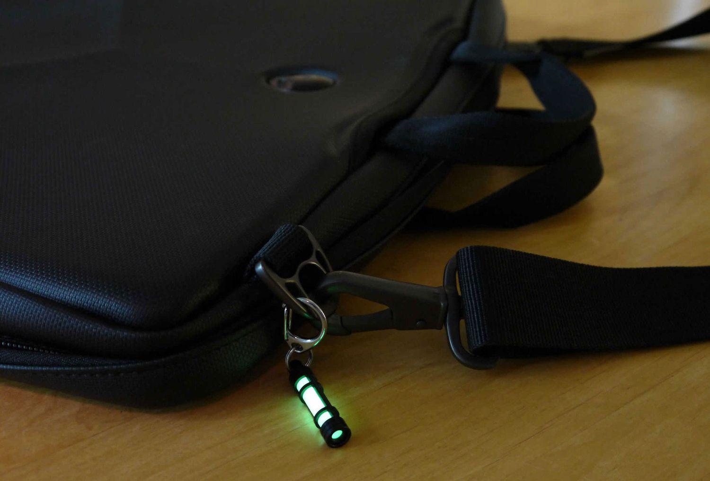 New TEC Accessories TEC18 Embrite Glow Fob Black