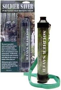 AFI-USA Soldier Saver Field Filtration Straw