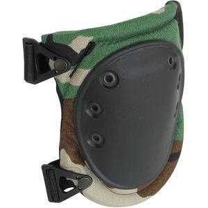 AltaFLEX Tactical Military Knee Pads, AltaLok, Woodland Camo