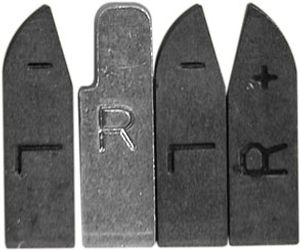 Byers' Axe & Tool Sharpener Diamond Carbide Replacement Blades