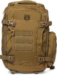 Cannae Pro Gear Legion Elite Day Pack with Helmet Carry, Coyote