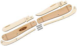 Case Wooden Pocket Knife Kit, Mini Trapper, Gift Box/Tin
