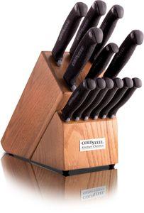 Cold Steel 59KSSET 13 Piece Kitchen Classic Block Set, Kray-Ex Handles