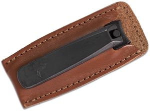 Concord Executive Toe Nail Clipper, Tan Italian Leather Case