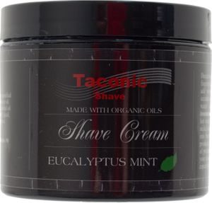 Taconic Mint & Eucalyptus Shave Cream, 4 oz. Tub