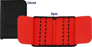 Carry All Zipper Knife Pack, Holds 16 Pocket Knives up to 5 inch Closed