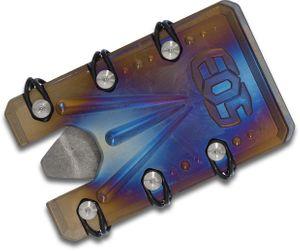EOS Titanium 2.0 Wallet, Flamed