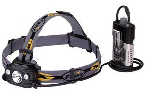 Fenix HP30R Rechargeable LED Headlamp, Black, 1750 Max Lumens