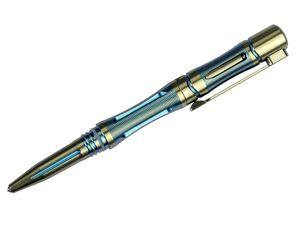 Fenix T5Ti Halberd Titanium Tactical Pen, Storm Blue