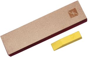 Flexcut 8 inch x 2 inch Leather Knife Strop w/ Polishing Compound