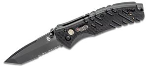 Gerber Propel AO Assisted 3.5 inch Black Tanto Combo Blade, G10 Handles