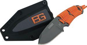 Gerber 31-001683 Bear Grylls Paracord Fixed 3.25 inch Plain Blade, Plastic Sheath