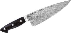 Zwilling J.A. Henckels EUROLine Bob Kramer Stainless Damascus 8 inch Chef's Knife, Micarta Handle