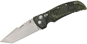 Hogue EX01 4 inch Tactical Tanto Blade, G-Mascus Green G-10 Handles