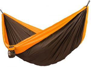 La Siesta Colibri Double Travel Hammock, Parachute Silk, Orange
