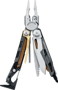 Leatherman MUT Heavy-Duty Multi-Tool, Stainless Steel, Black MOLLE Sheath