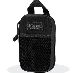 Maxpedition 0262B Micro Pocket Organizer, Black