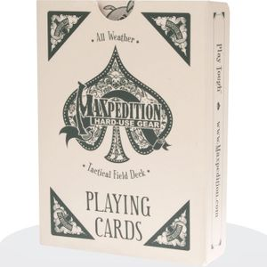 Maxpedition TACFIELDDECK Tactical Field Deck All Weather Playing Cards