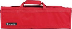 Messermeister 8 Pocket Red Knife Bag