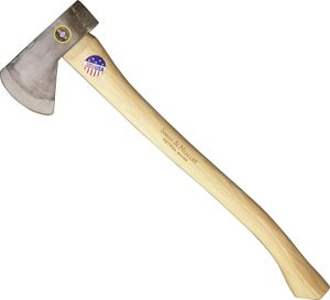 Snow & Nealley Hudson Bay Camping Axe 23 inch Overall, 2.95 Pounds