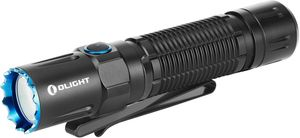 Olight M2R Pro Warrior Rechargeable LED Tactical Flashlight, Black, 1800 Max Lumens (1 x 21700)
