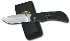 Outdoor Edge Pocket Lite 3.2 inch Plain Edge Blade with G10 Handles